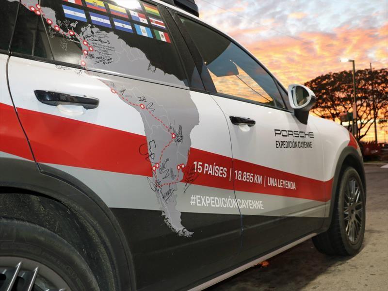Expedición Porsche Cayenne: Honduras