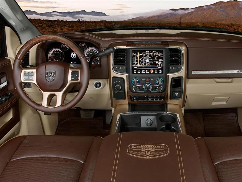 Mejores interiores 2013: Ram 1500 Laramie Longhorn
