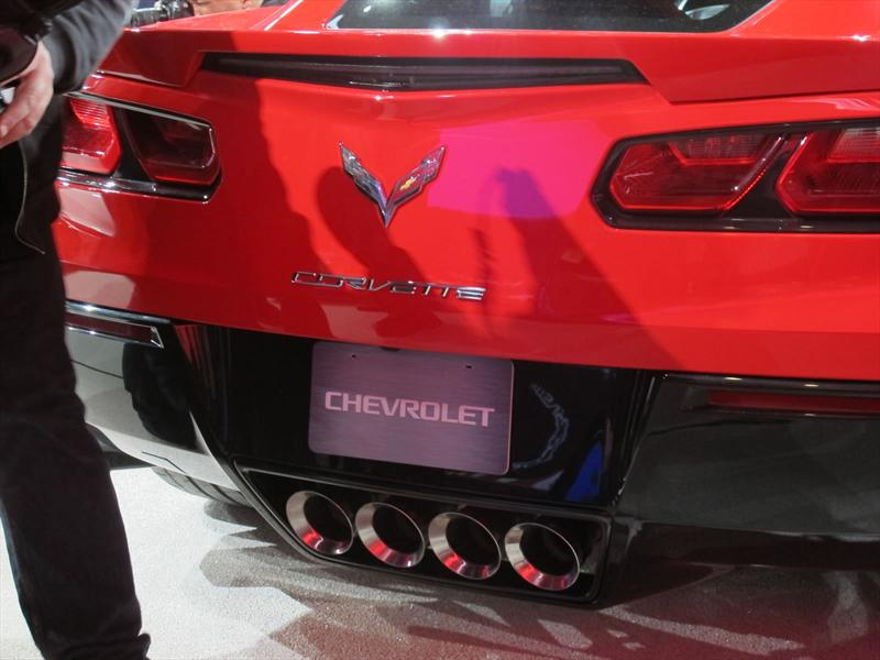 Chevrolet Corvette Stingray 2014 en vivo