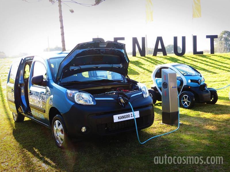 Renault Kangoo Z.E. y Twizy en Argentina