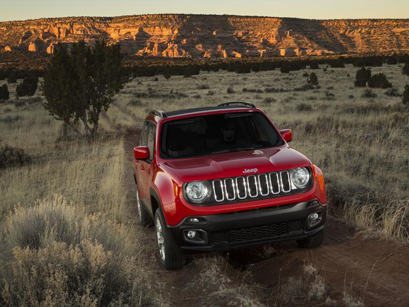 Jeep Renegade 2015 se presenta