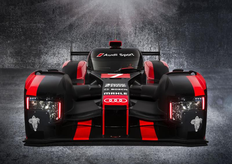 Audi R18 Hybrid LMP1 se presenta