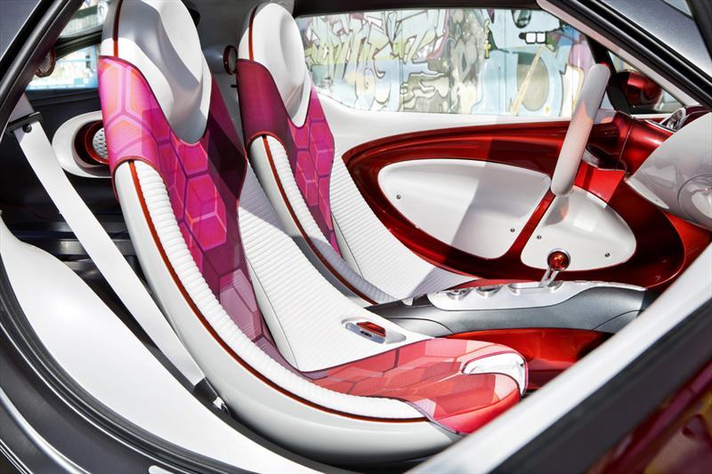smart ForStars Concept en el Salón de París 2012