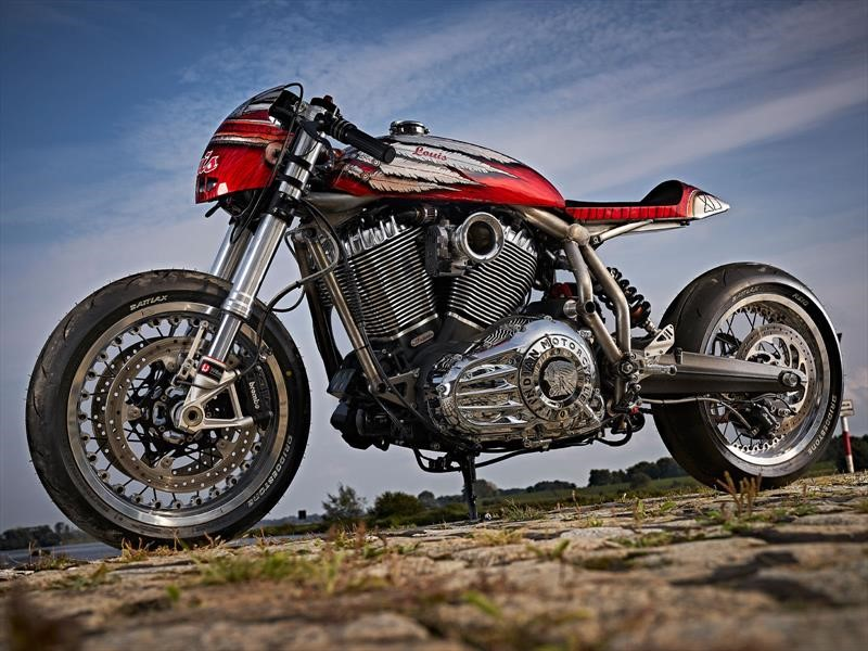 Indian Café Racer Engina