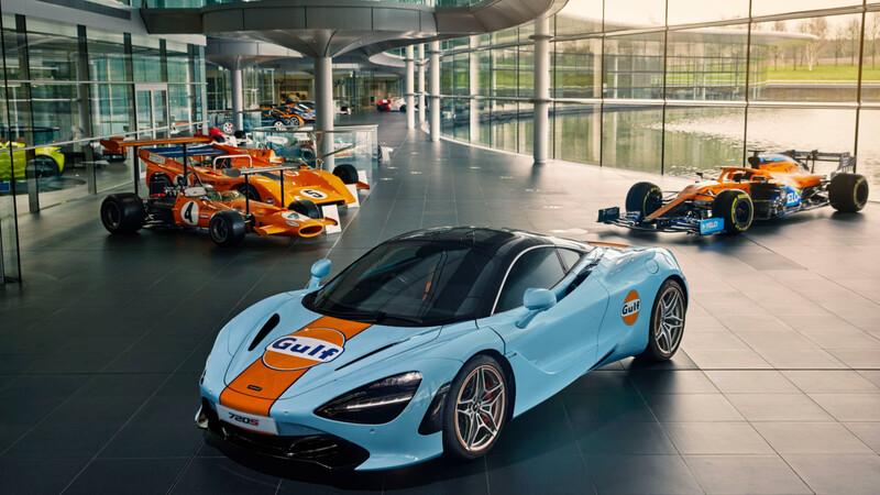 McLaren 720S Gulf Oil