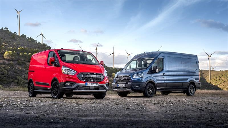 Ford Transit Trail y Transit Custom Trail 2020