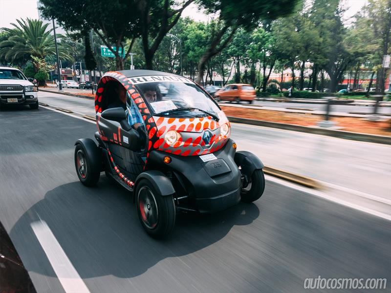 Prueba Renault Twizy en México