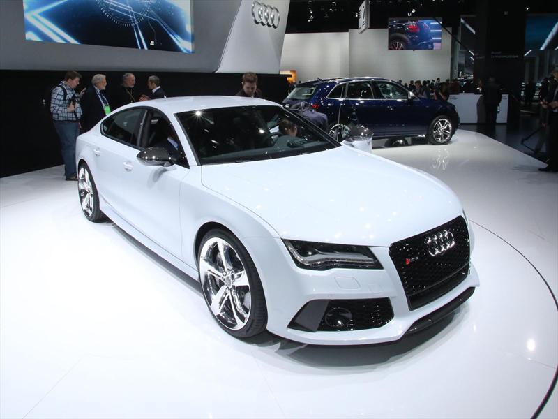 Audi RS7 en vivo