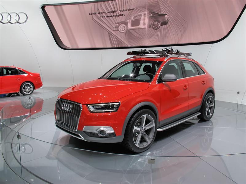 Audi Q3 Vail Concept En Detroit 2012 Audi Q3 Vail Concept En