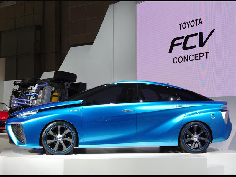 Top 10: Toyota FCV concept