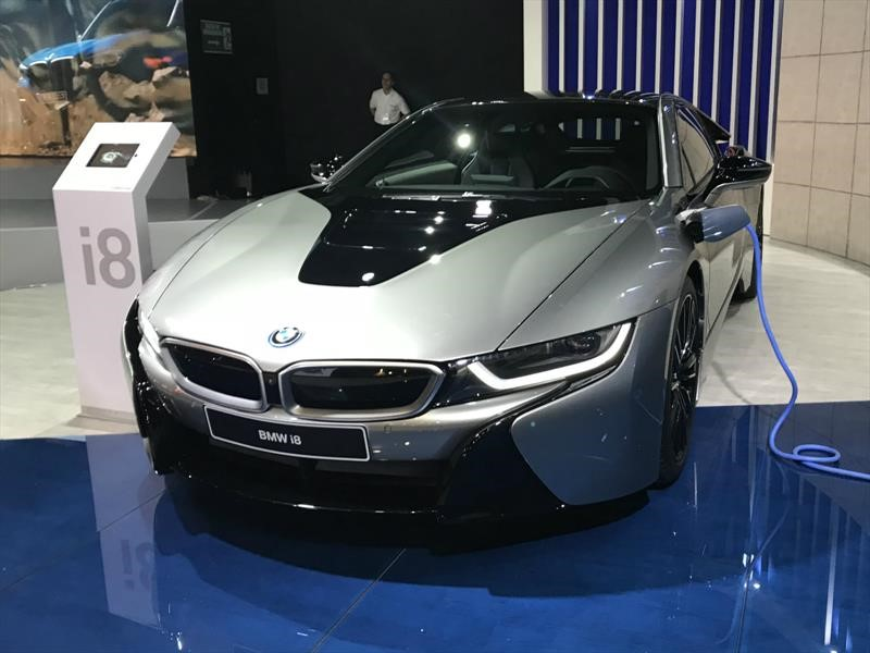 BMW i8 Salón del Automóvil de Bogotá