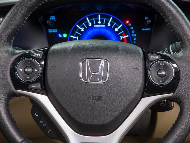 Honda Civic 2013 Salon de Los Angeles 2012