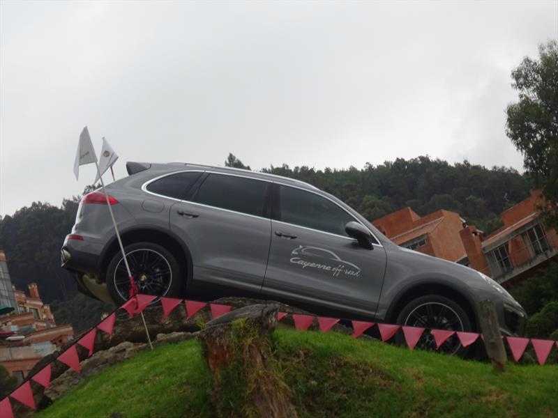Porsche Cayenne Off-Road en Bogotá