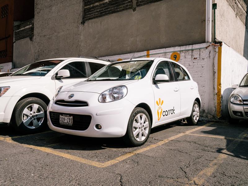 Carrot, el servicio de carsharing en México