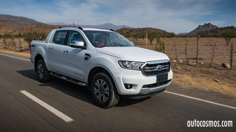 Test Drive Ford Ranger Limited 2020