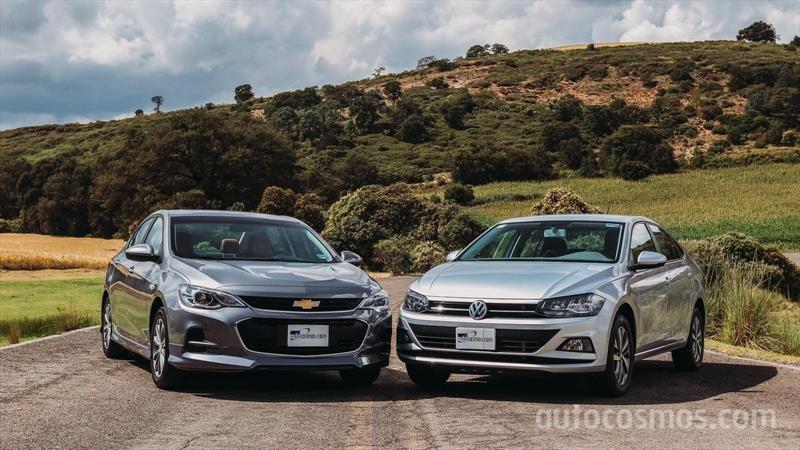 Chevrolet Cavalier 2020 vs Volkswagen Virtus 2020