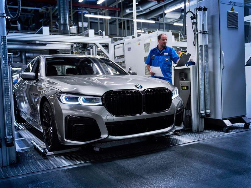 Producción BMW Serie 7 2020