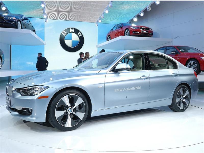 BMW ActiveHybrid 3 2012 en el Salón de Detroit