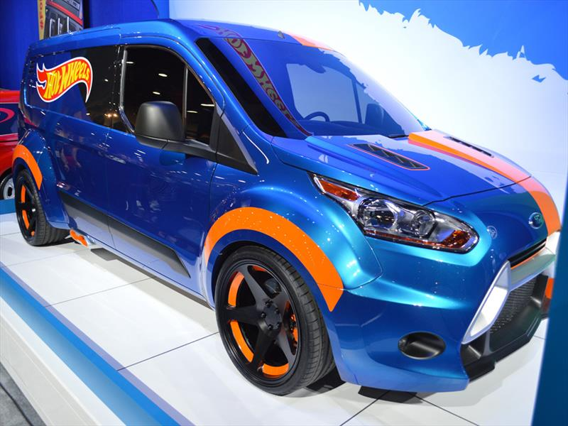 Top 10: Ford Transit Connect Hot Wheels