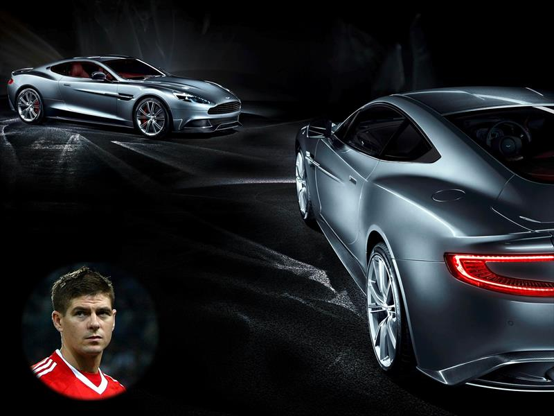 Top 10: Steven Gerrard Aston Martin Vanquish