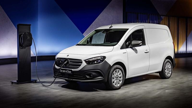 Mercedes eCitan 2022