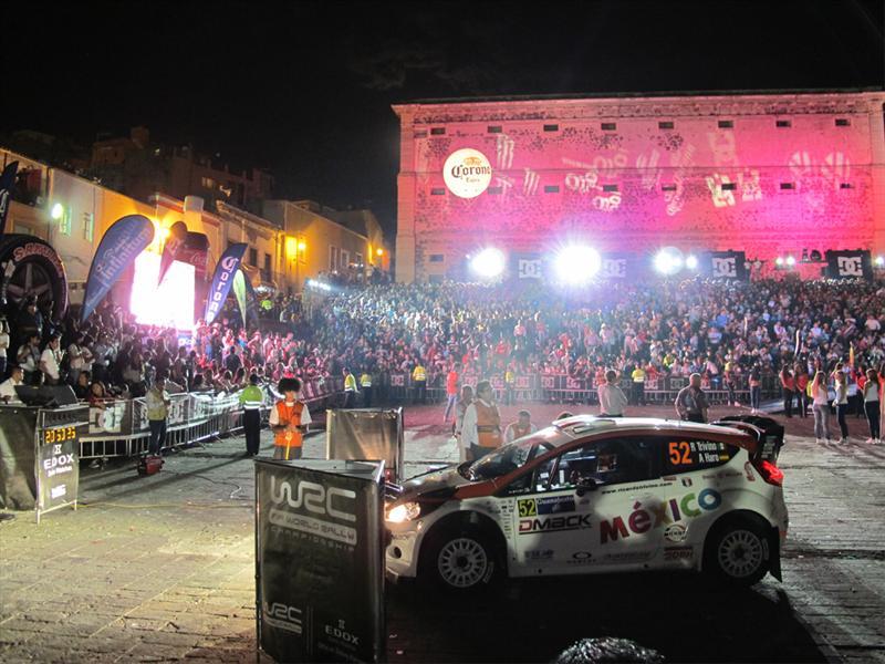 Inicio de WRC en Guanajuato 2012