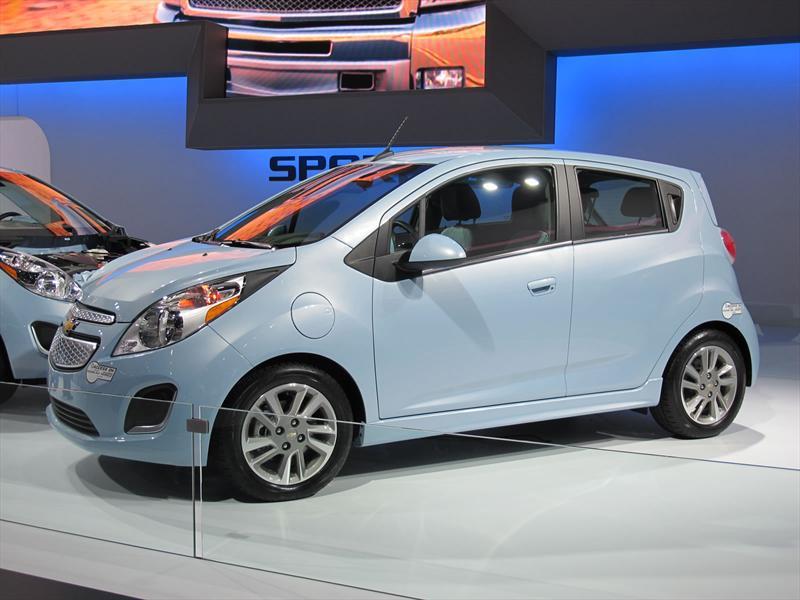 Chevrolet Spark EV en el Salón de Los Angeles