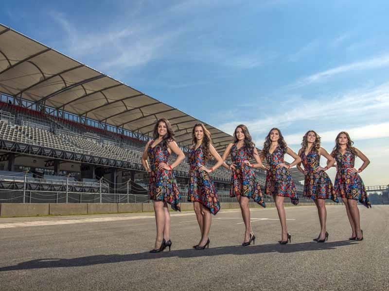 Grid Girls del Gran Premio de México 2015