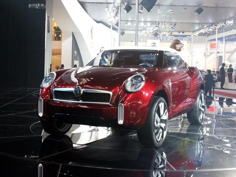 MG Icon en el Salón de Beijing 2012