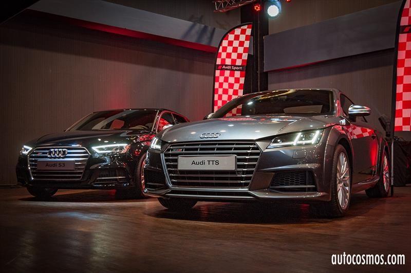 Lanzamiento Audi S3 Sportback, S4, TT S (2017)