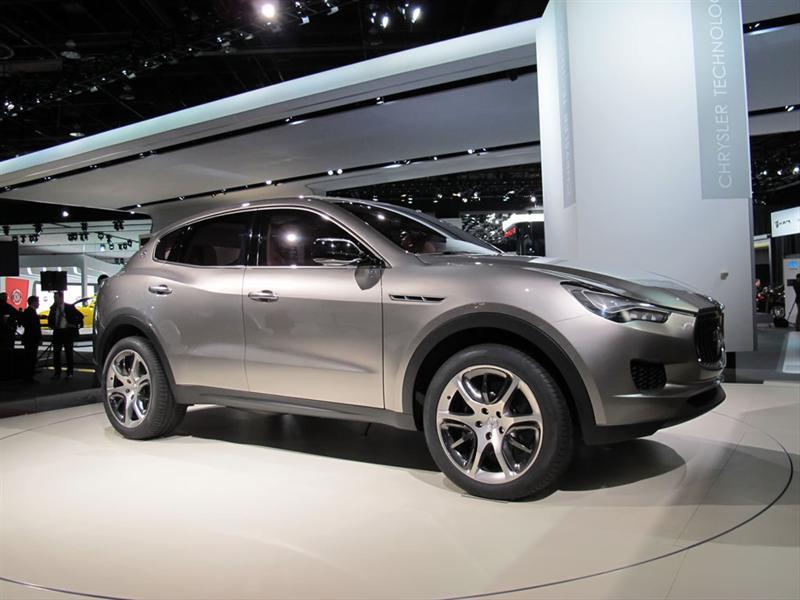 Maserati Kubang Concept en Detroit 2012
