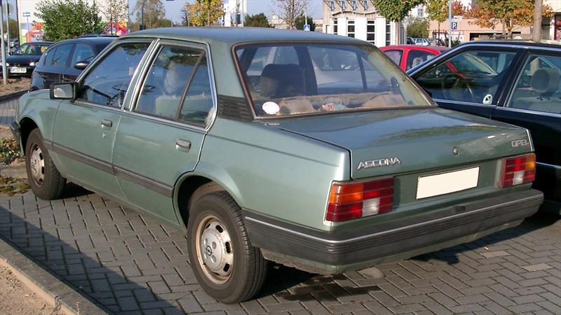 Top 10: Opel Ascona