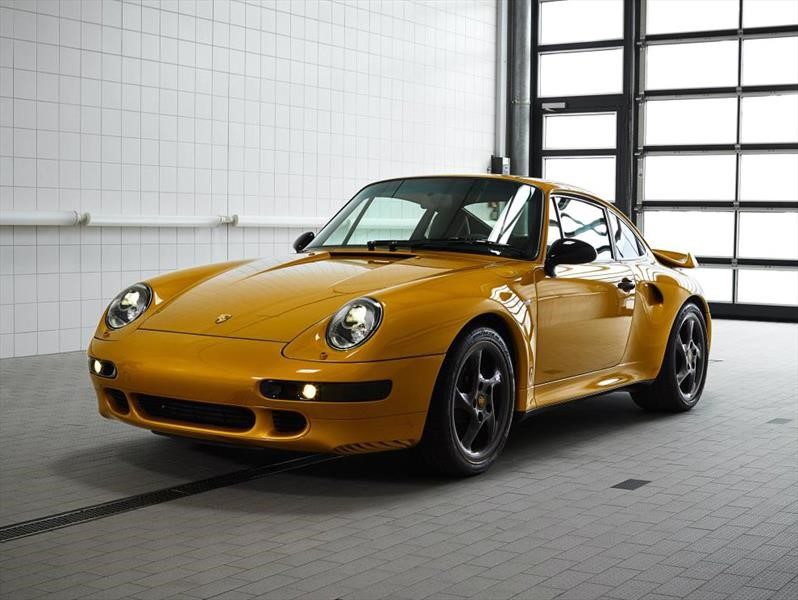 Porsche 911 -993- Turbo Project Gold