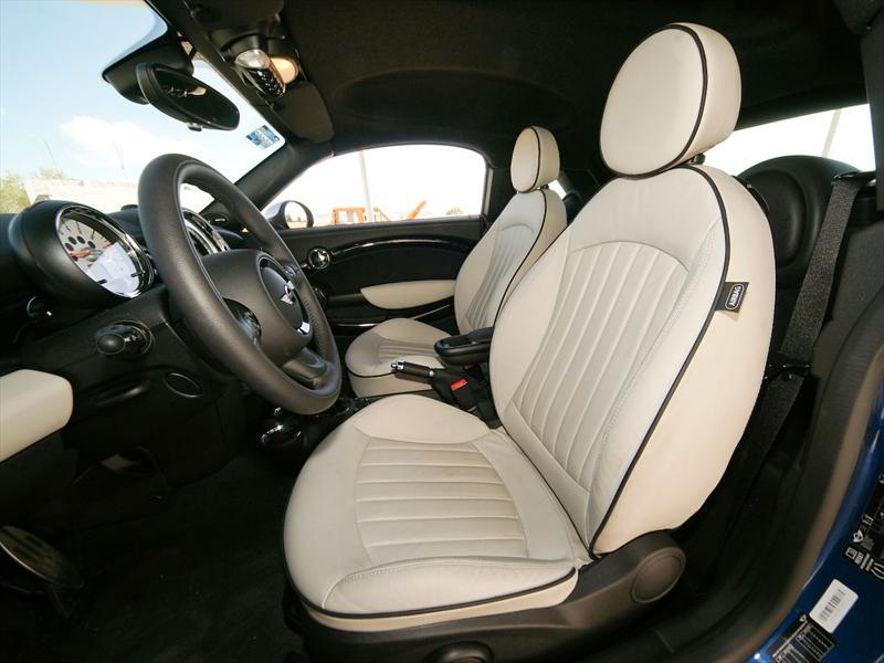 MINI Cooper S Coupé 2012 prueba
