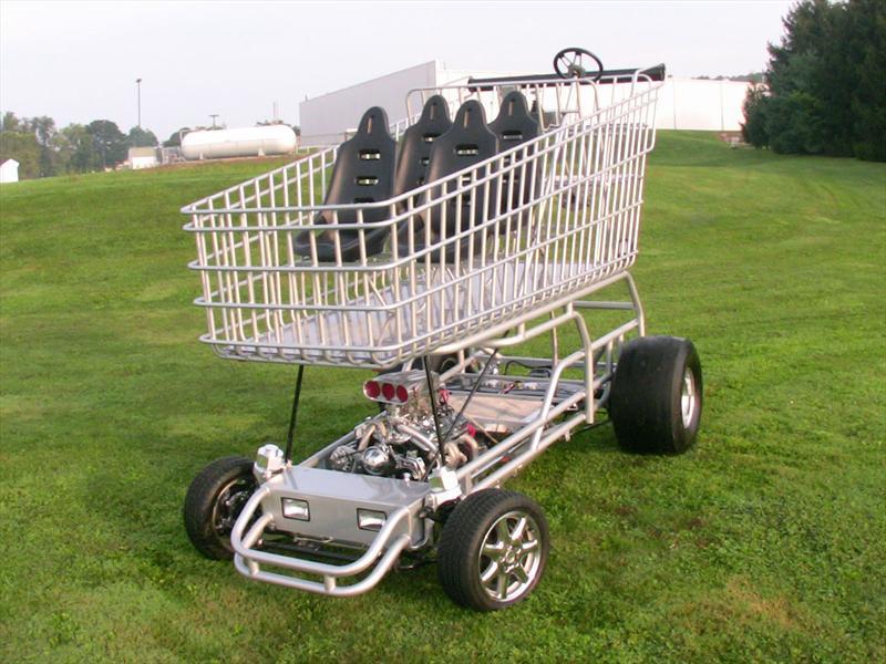 Un V8 en el supermercado