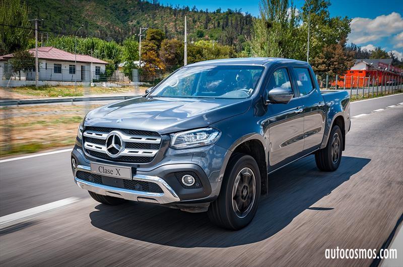 Mercedes-Benz Clase X 2019 - Lanzamiento en Chile