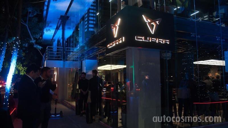 Inauguración CUPRA Garage CD de México