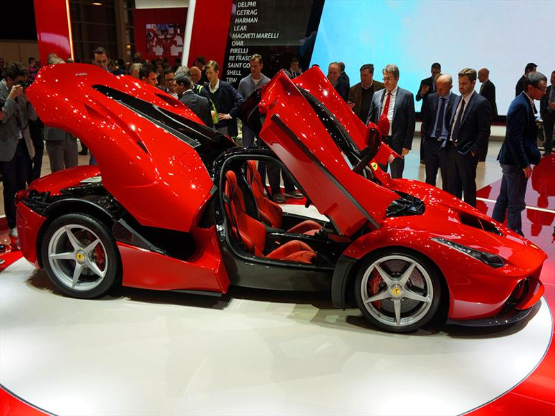 Ferrari LaFerrari en Ginebra 2013