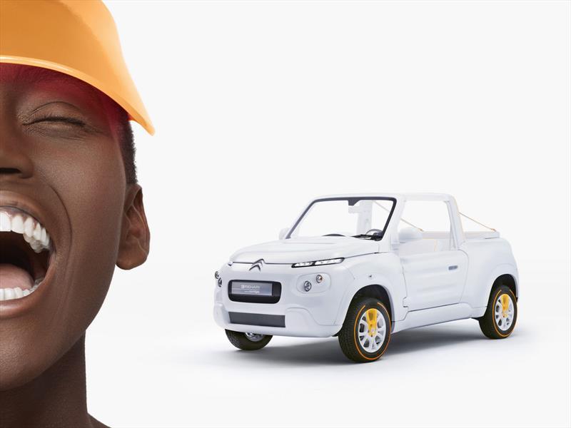 Citroën E-Mehari by Courreges EV Concept