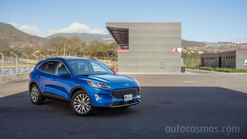 Ford Escape Titanium 2020 a prueba