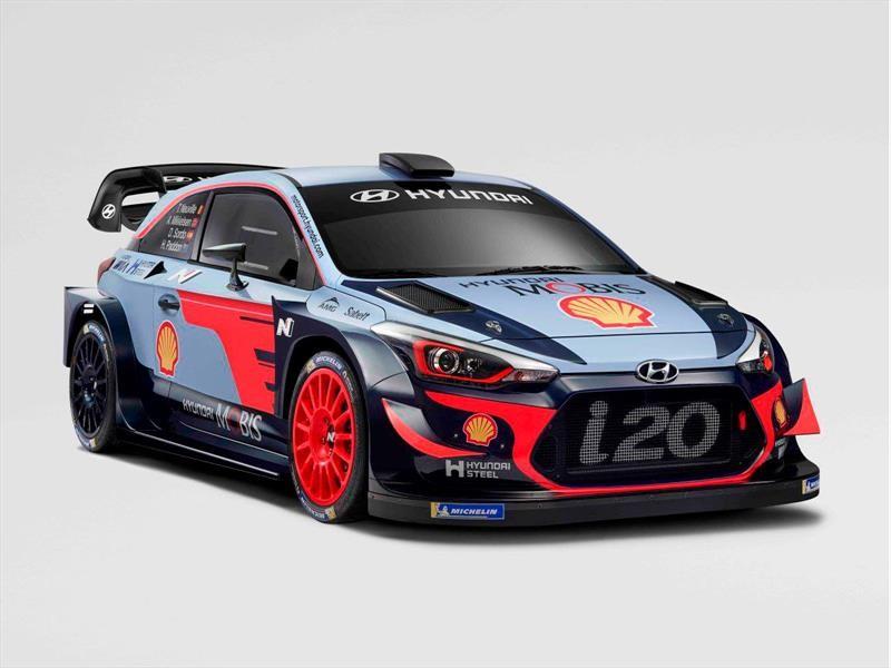 Hyundai i20 Coupé WRC 2018
