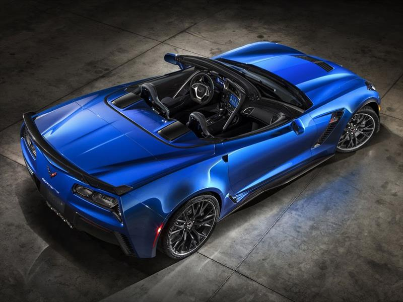 Chevrolet Corvette Stingray Z06 Convertible 2015