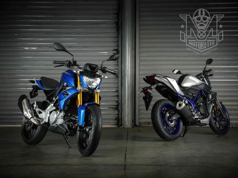 BMW G 310 R vs Yamaha MT-03