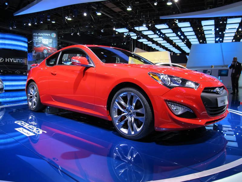 Hyundai Genesis Coupé 2013 en Detroit
