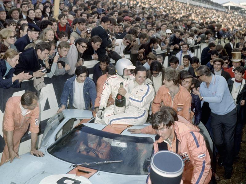 Pedro Rodríguez Le Mans 1968