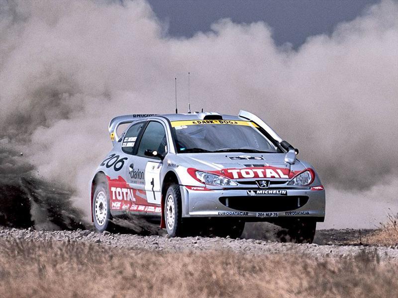 Top 10: Peugeot 206 WRC