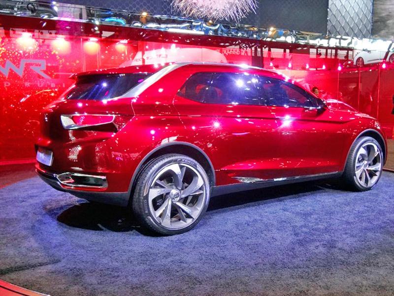 Citroën DS Wild Rubis en el Salón de Shanghai