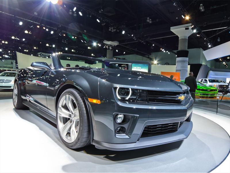 Chevrolet Camaro ZL1 Convertible 2012 LA