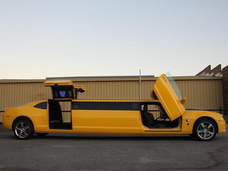 Chevrolet Camaro Transformers limusina