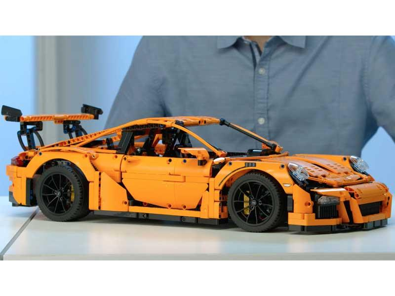 Porsche 911 GT3 RS de Lego
